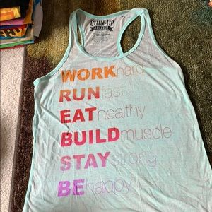 Work our tank top